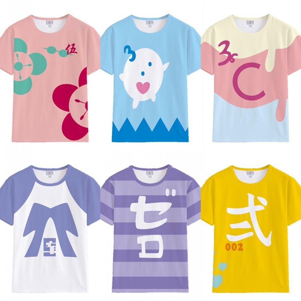 Anime T shirt  Zombie Land Saga Sakura Cosplay women Short Casual Tee Tops shirt