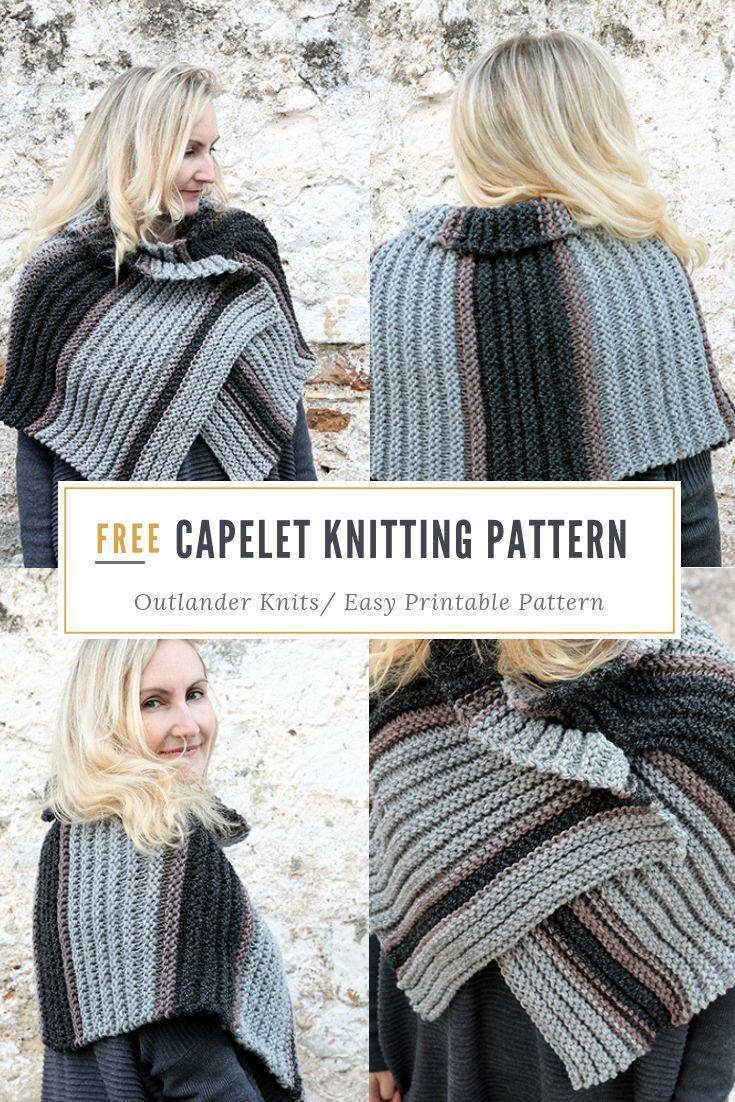 Outlander Capelet Pattern   Capelet knitting pattern ...