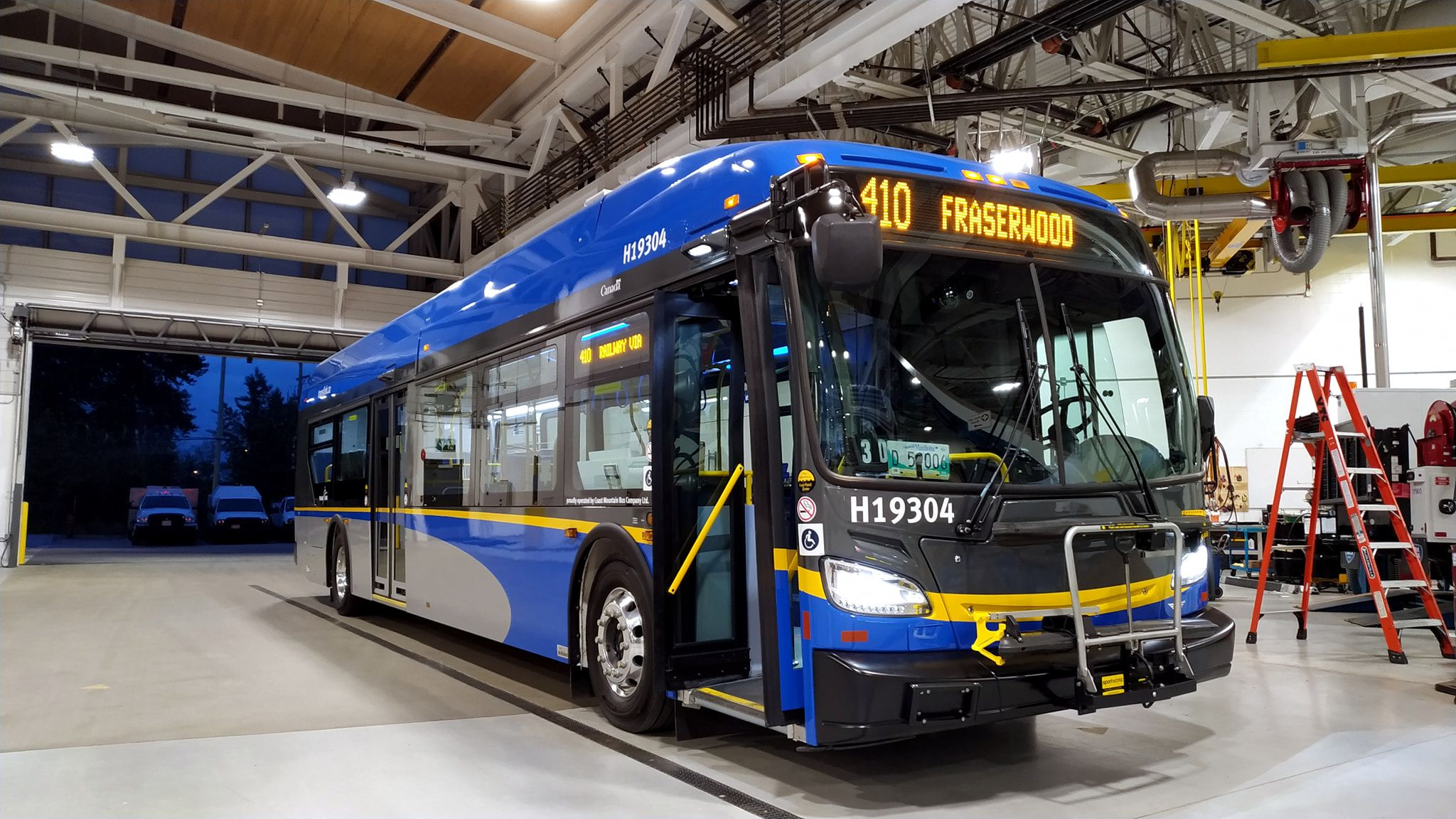 Vancouver BC New Flyer XE Battery Electric New flyer