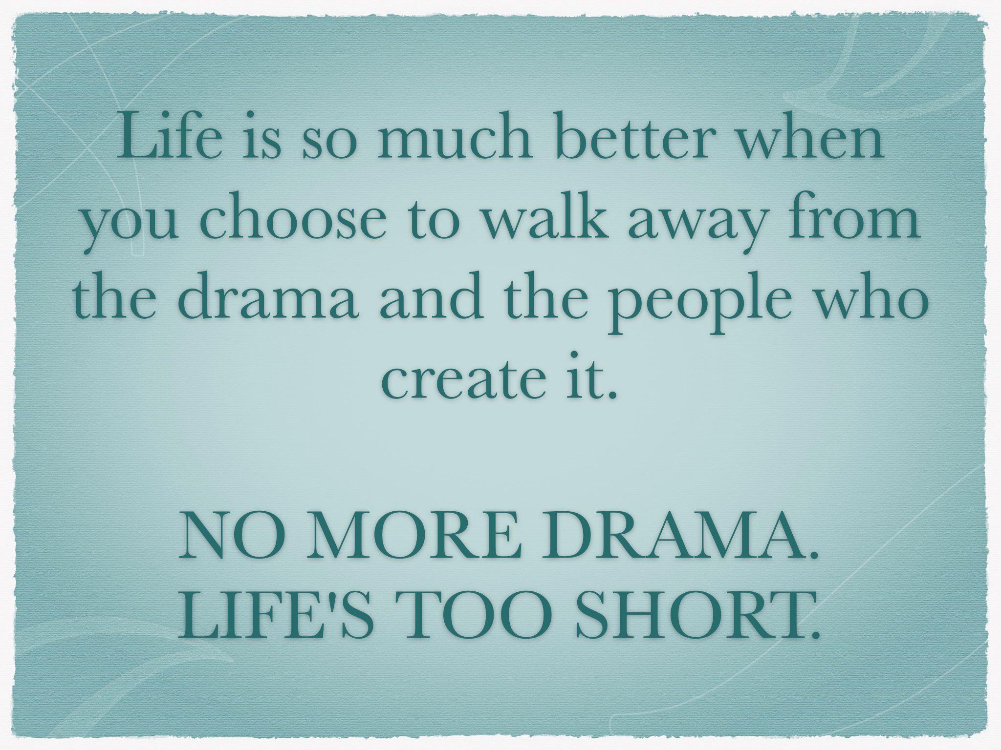 Facebook No Drama Zone Quotes. QuotesGram