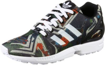 adidas damen sneakers zx flux bunt