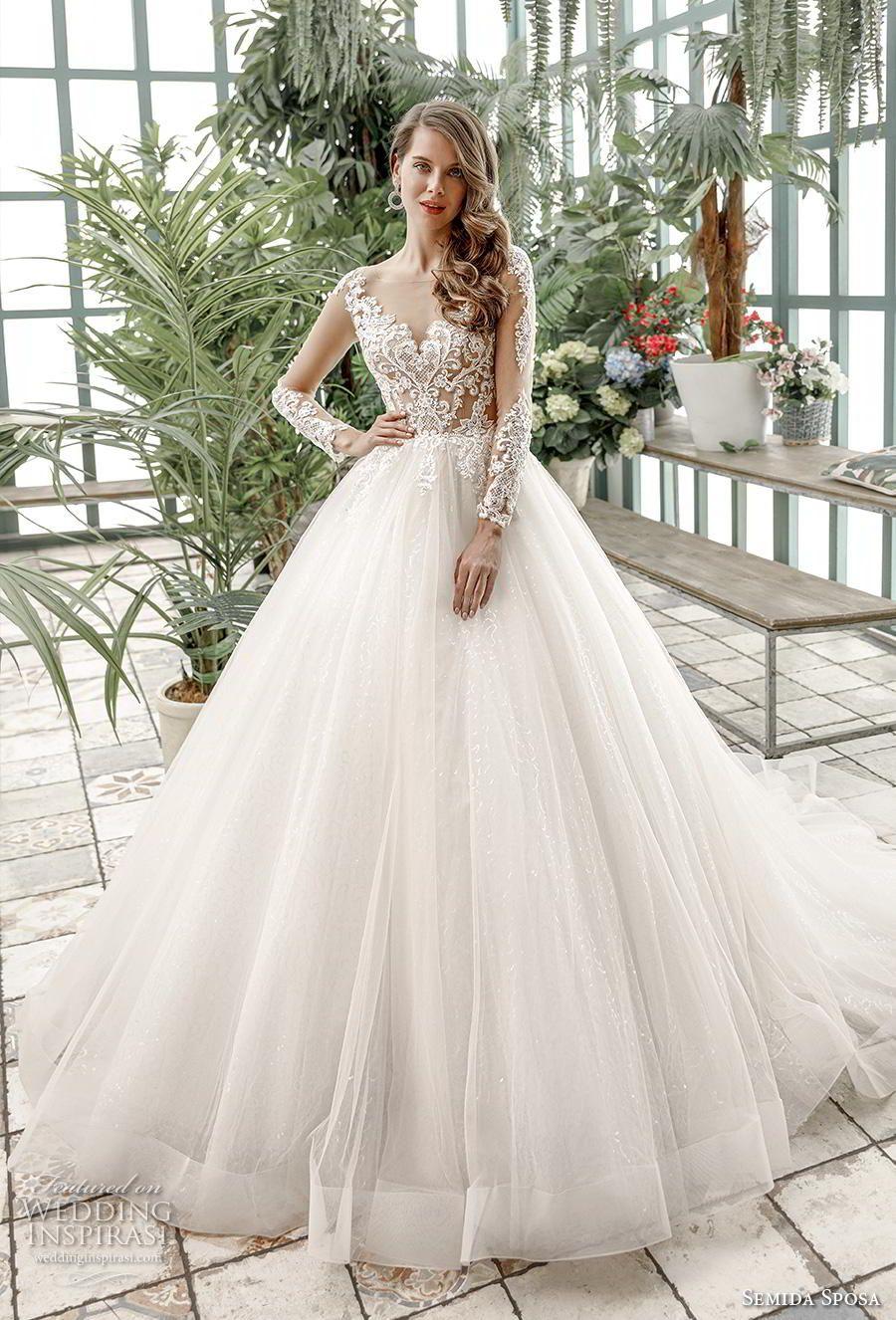 Semida Sposa 2020 Wedding Dresses Amazon Bridal Collection Wedding Inspirasi Wedding Dresses Amazon Wedding Dresses Wedding Dress Accessories