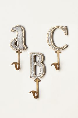 Marquee Letter Hook Anthropologie