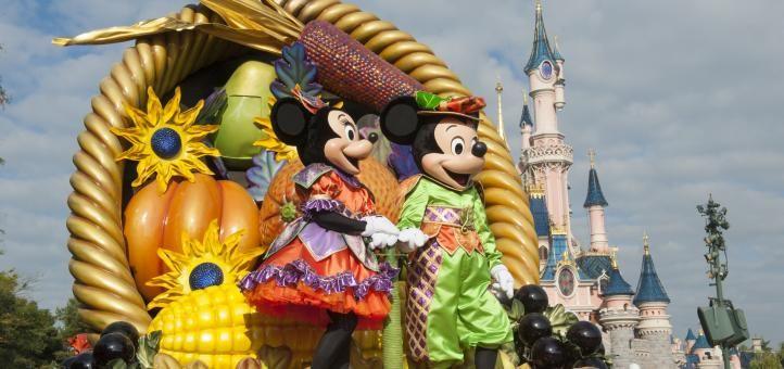 Halloween at Disneyland Paria