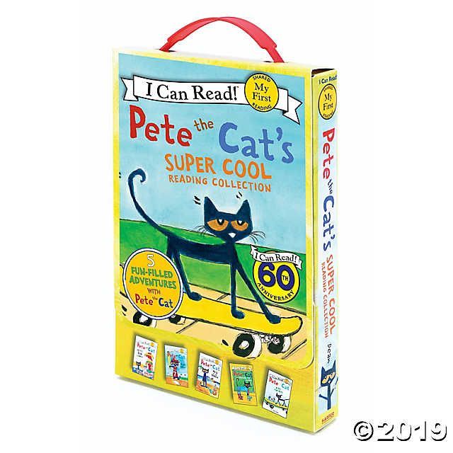 Pete The Cat S Super Cool Reading Collection Set Of 5 Oriental Trading In 2020 Pete The Cats I Can Read Books Toys For Us