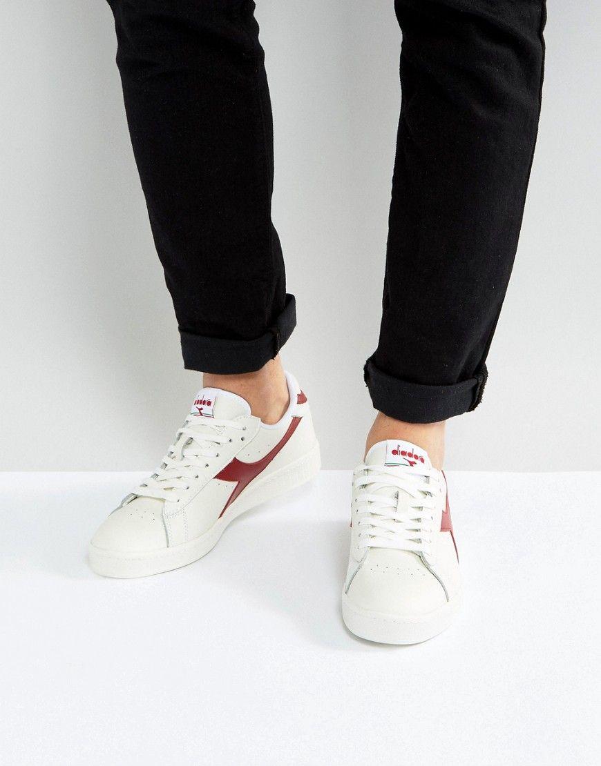 Shop Diadora Game L Low Sneakers In White at ASOS.