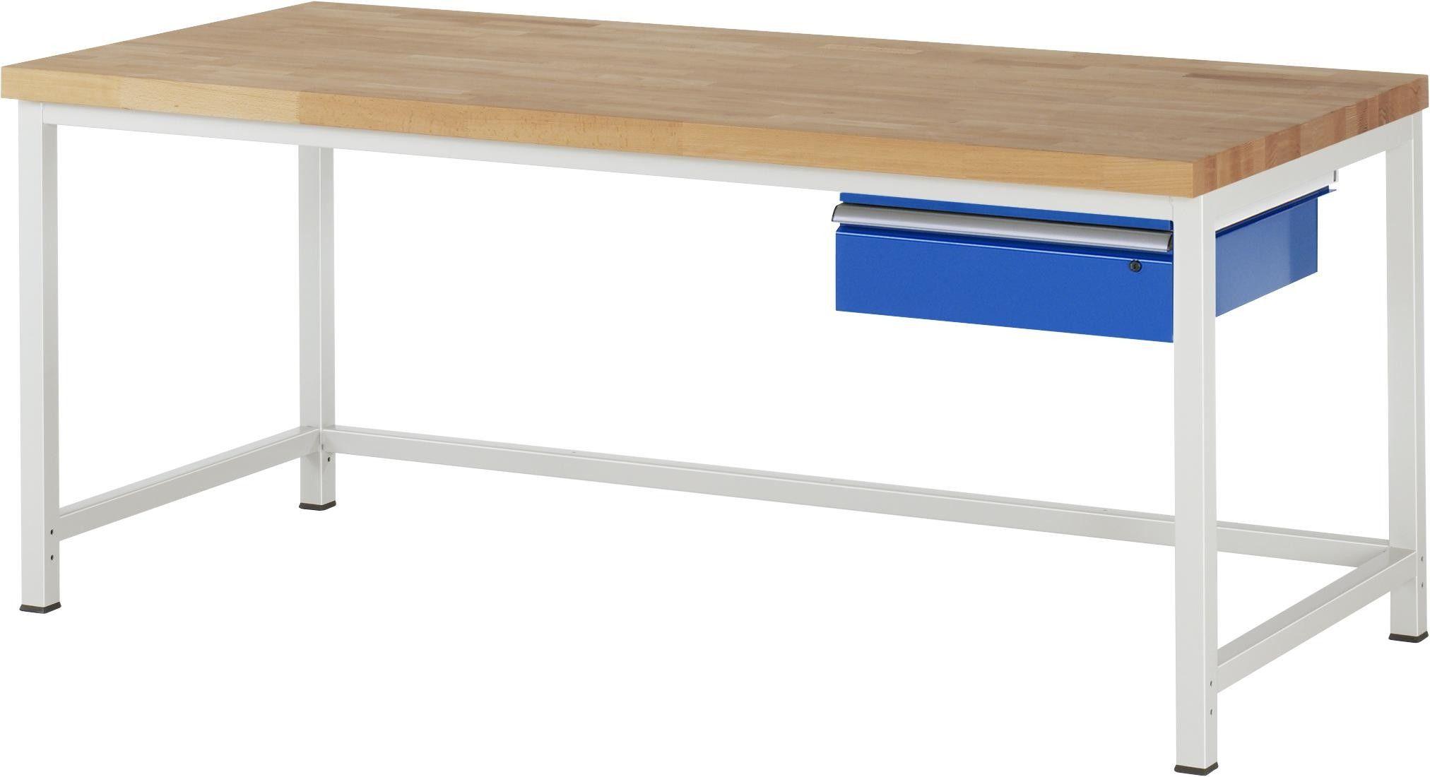 Werkbank Serie 8000 Modell 8001a1 2000x900x840 1040 Mm In 2020 Mit Bildern Werkbank Unterbau Schublade Modell