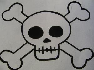 Calavera Pirata Para Ninos Buscar Con Google Dibujos De Piratas Calavera Pirata Como Dibujar Una Calavera