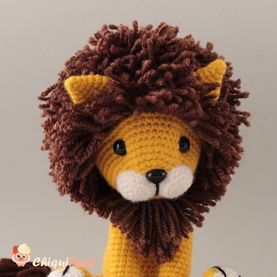 Meet Tyrion The Gold Amigurumi Lion This Crochet Lion Toy Is Ready
