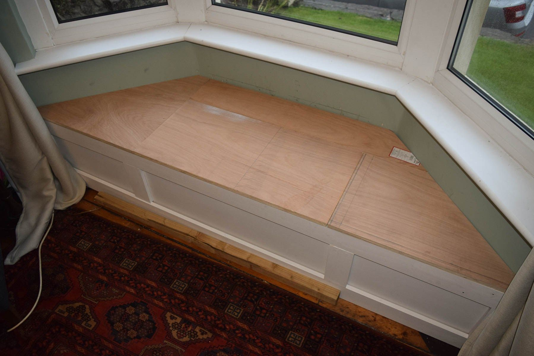 Fabulous How To Build A Victorian Bay Window Seat With Storage Gmtry Best Dining Table And Chair Ideas Images Gmtryco