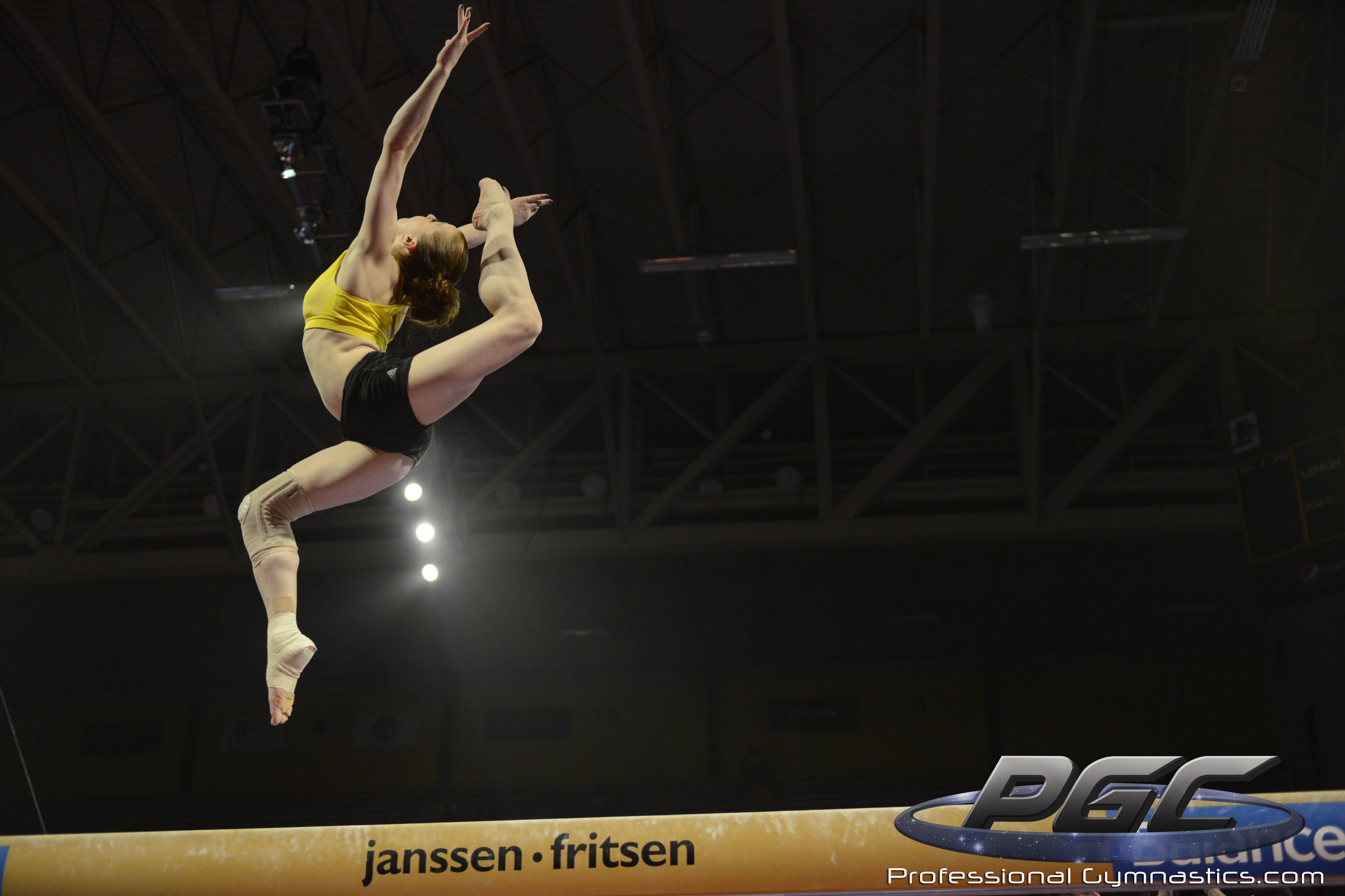 Pro Gymnastics Challenge Anna Pavlova
