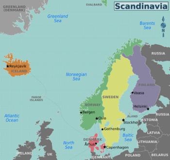 Denmark Sweden Norway Finland Iceland Greenland Faroe Islands Aland Islands Scandinavia Nordic Countries Finland