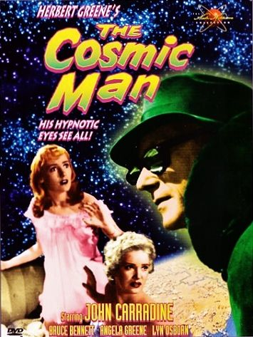 THE COSMIC MAN 1959 dvd cover