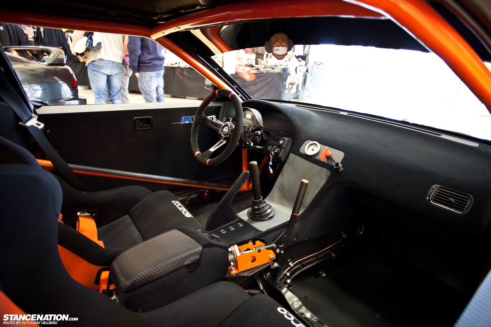 Nice And Clean Interior Of A Drift Car
