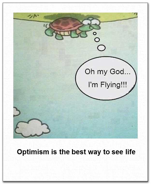 Best Way To Clean Marble Bathrooms: Optimism Is The Best Way To See Life #cute #turtle #quote
