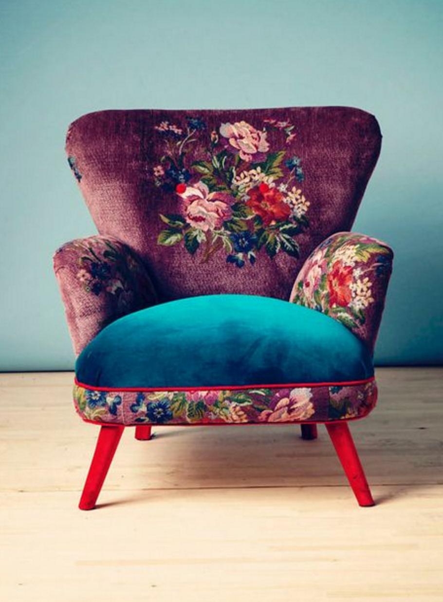 Velvet Armchair | Name Design Studio On Etsy