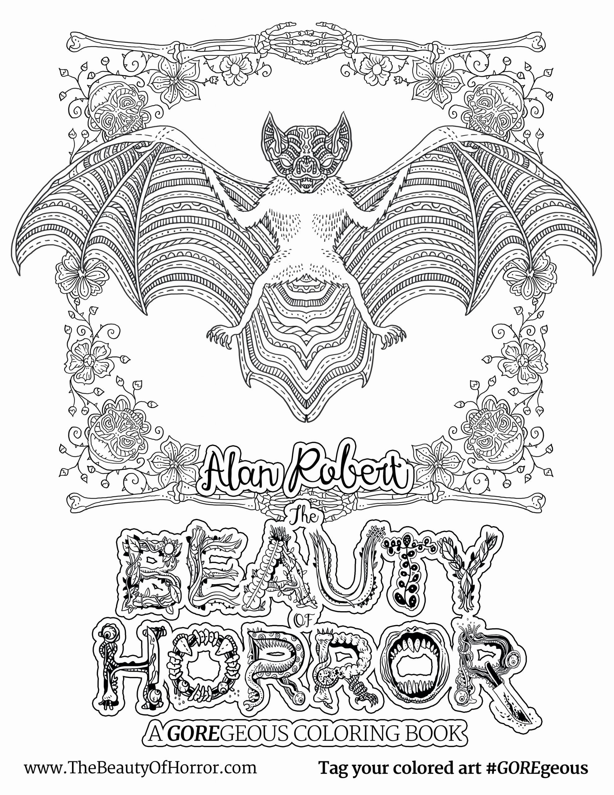 The Beauty Of Horror Coloring Book Beautiful The Beauty Horror Creepy Coloring Book Now Has A Sequel Coloring Books Travel Coloring Books Shark Coloring Pages