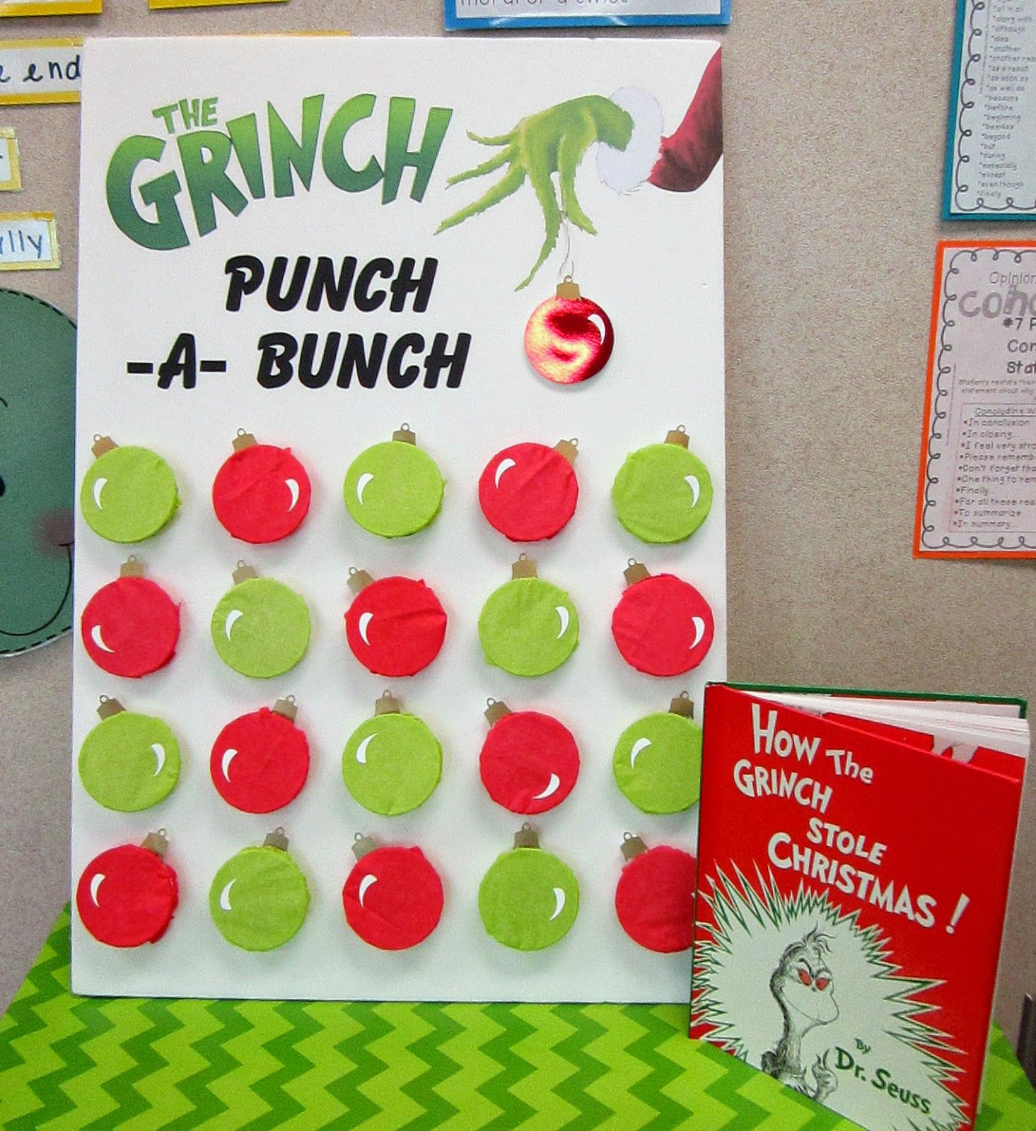 Sweeten Your Day Events Grinch Classroom Party School