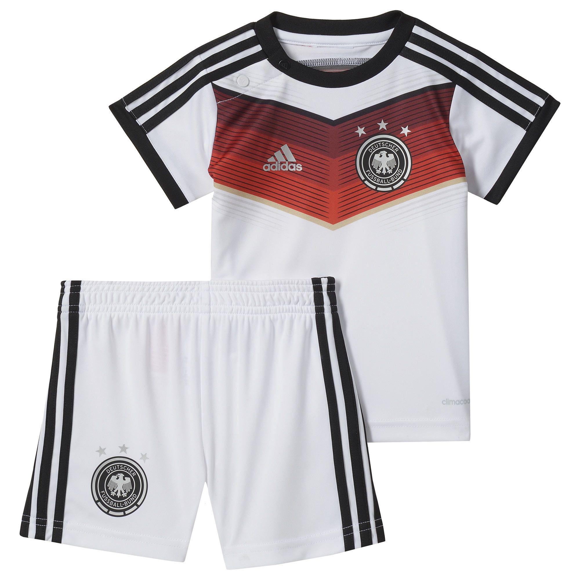 adidas Kinder Deutschland Mini Heimausrüstung www