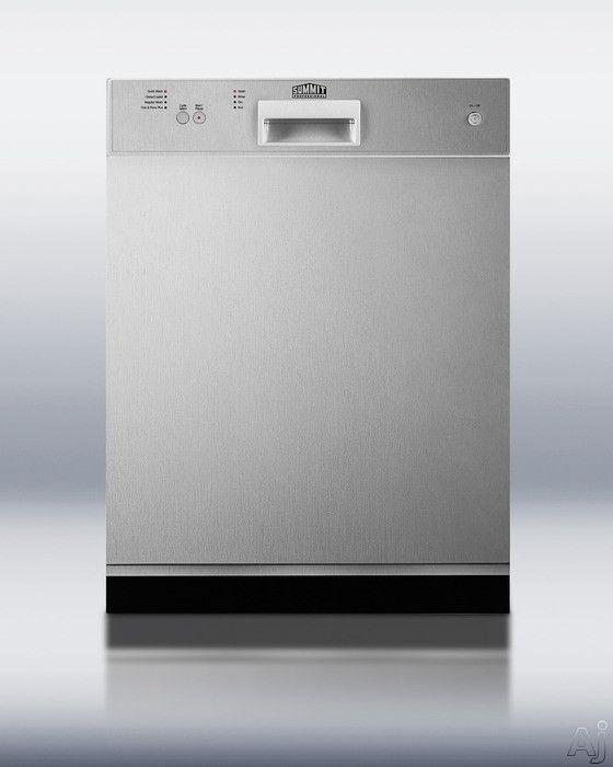 Summit Dw2432ss Full Console Dishwasher With 4 Wash Programs 12