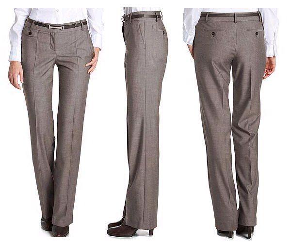 Pantalon Clasico De Dama Pantalones Camisas Para Traje Pantalones De Vestir