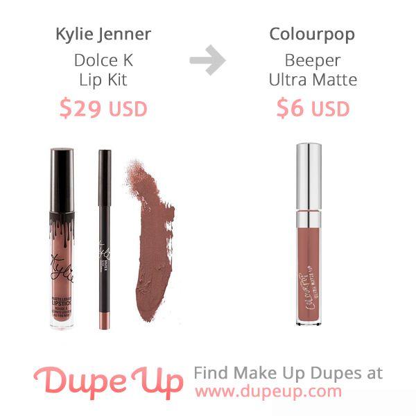 Dolce K Lip Kit Dupe Kylie Jenner Lip Kit Dupes Lip Kit Make Up Dupes