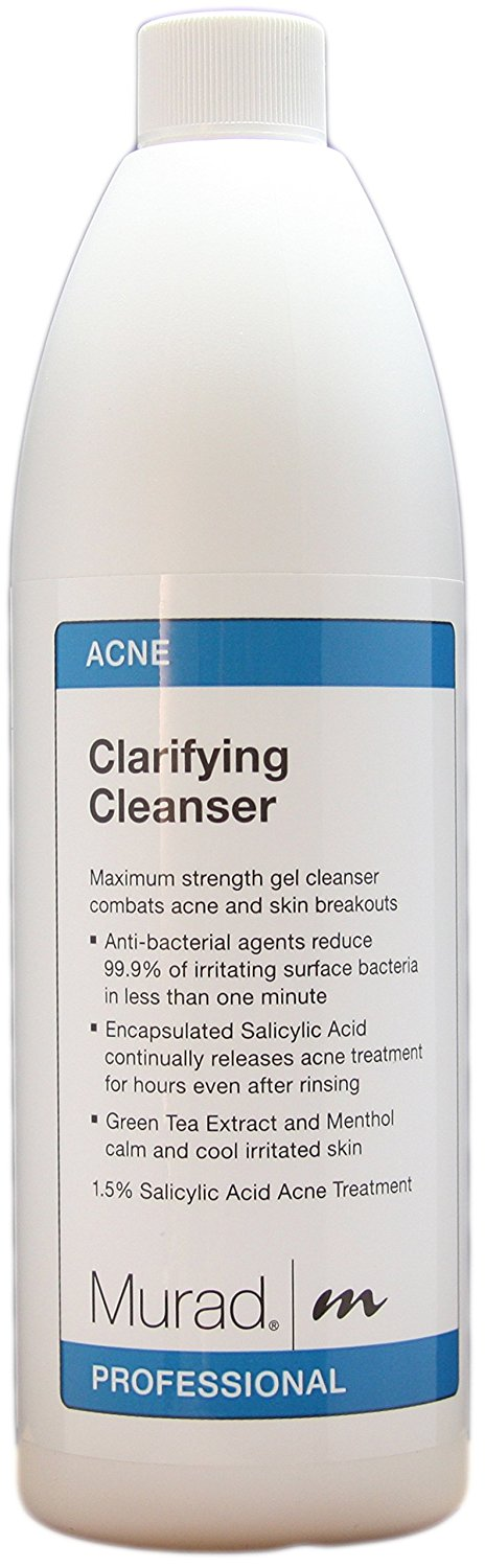 Murad Clarifying Cleanser Acne Line Pro Size 16 9 Fl Oz This Is An Amazon Affiliate Link Check This Awesome Clarifying Cleanser Acne Cleansers Gel Cleanser