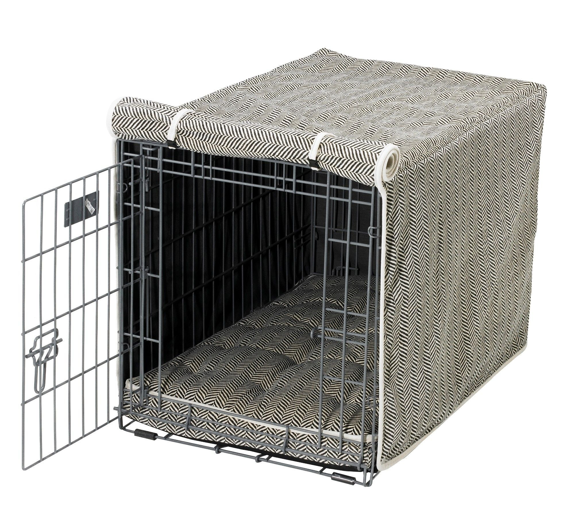 luxury dog crate cover  crate cover dog crate and dog - luxury dog crate cover
