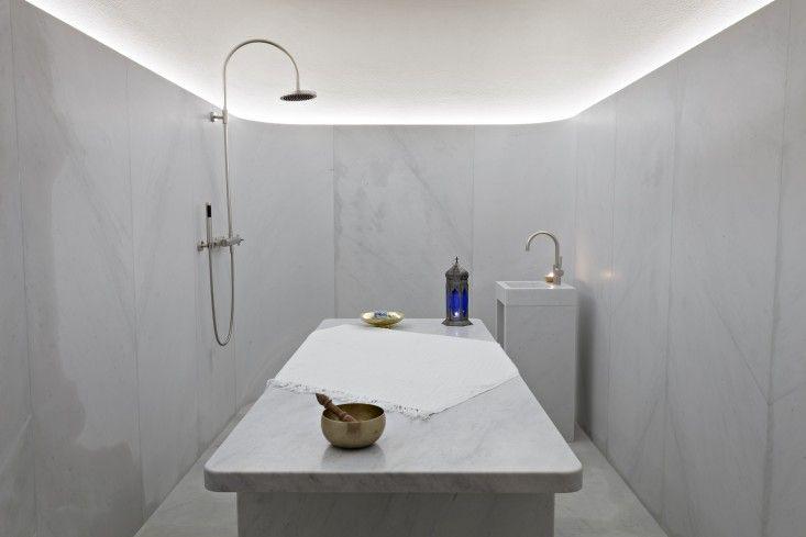 London s sleekest spa courtesy of david chipperfield hotel
