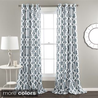 White Curtains black out white curtains : Exclusive Fabrics Arabesque Printed Cotton Twill Curtain by ...