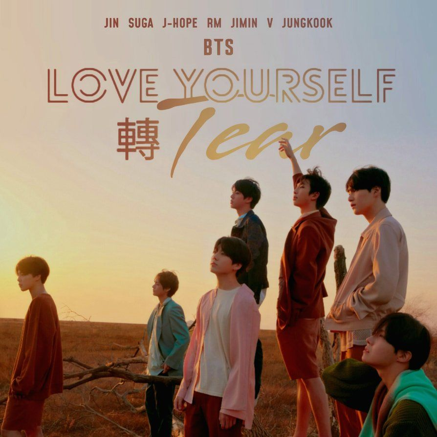 Fake Love Wallpapers: BTS FAKE LOVE (LOVE YOURSELF : TEAR) Album Cover By