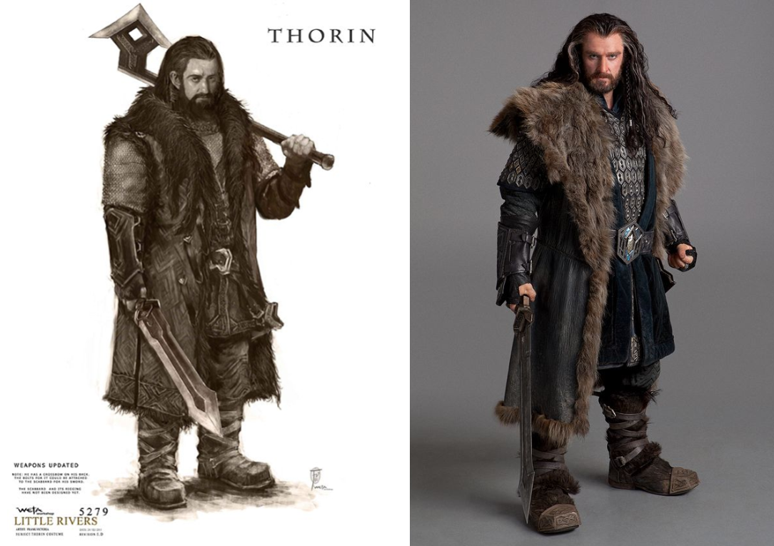 thorin ilustration sketch concept pinterest