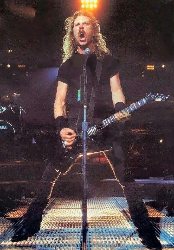 Young James Metallica Musica Rock Musica