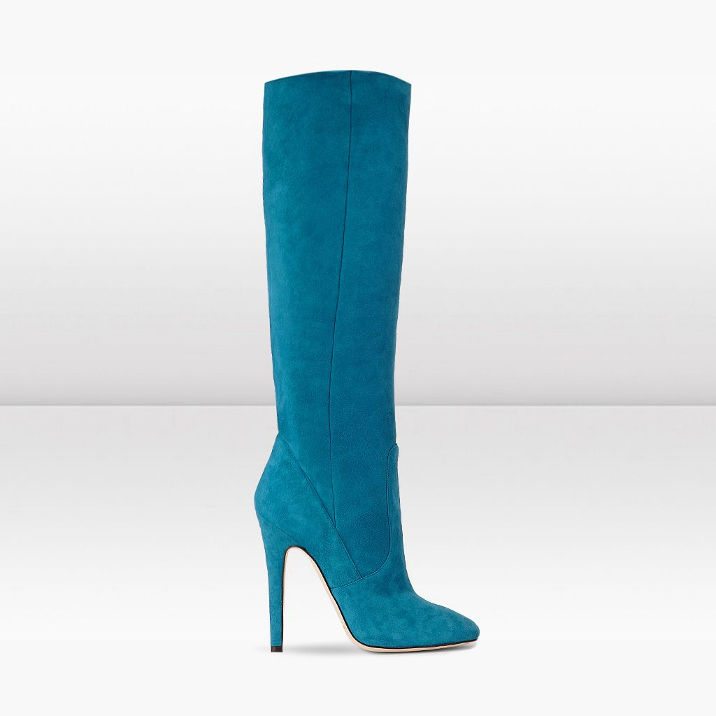 9c85ac474ce Jimmy Choo blue suede boots! A girl can dream!