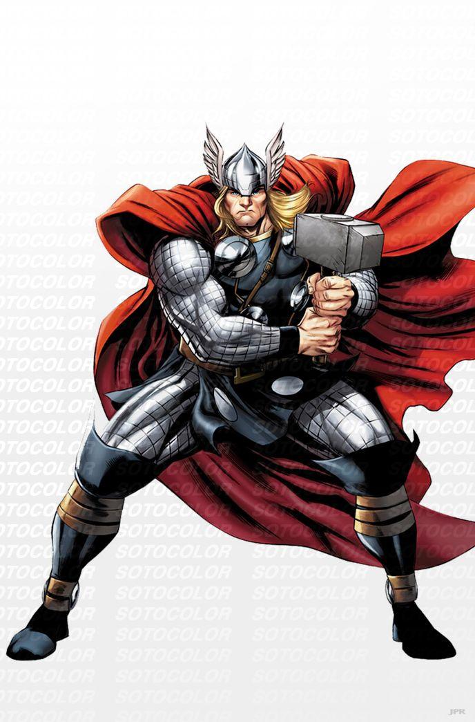 Avengers Thor Comic Art Thor Magnet Cute Thor Thor Pin