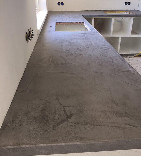 beton cire keukenblad woningstijl pinterest keukenblad keuken en keukens. Black Bedroom Furniture Sets. Home Design Ideas
