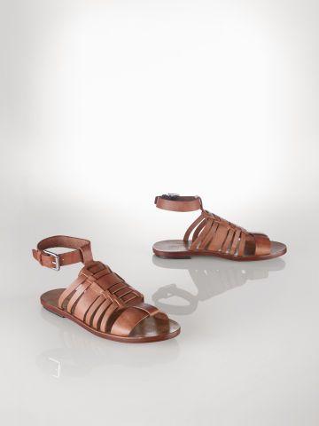 Polo Ralph Lauren Vachetta Jamilla Sandal - Polo Ralph Lauren Shop All - Ralph Lauren UK