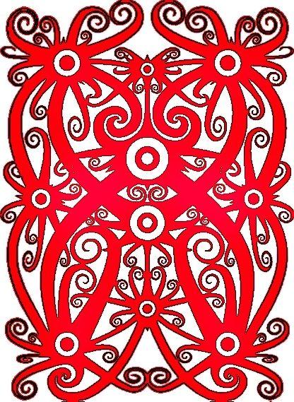 30 ide Motif iban | seni, tato borneo, seni tradisional
