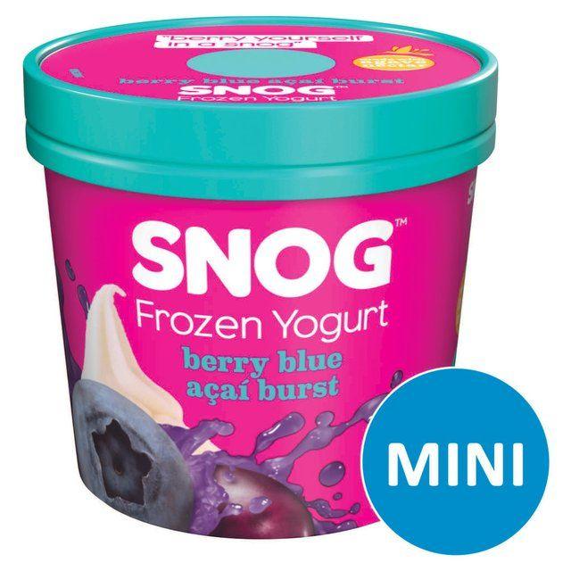 Frozen Yogurt || Berry Blue & Açai