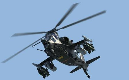 China's Z-10 attack helicopter.