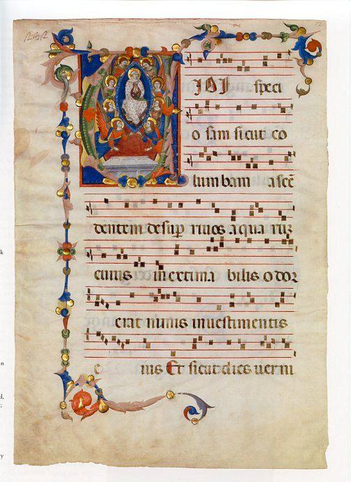 Initial D Fine Art Print Illuminated Manuscript Page Saint John the Baptist