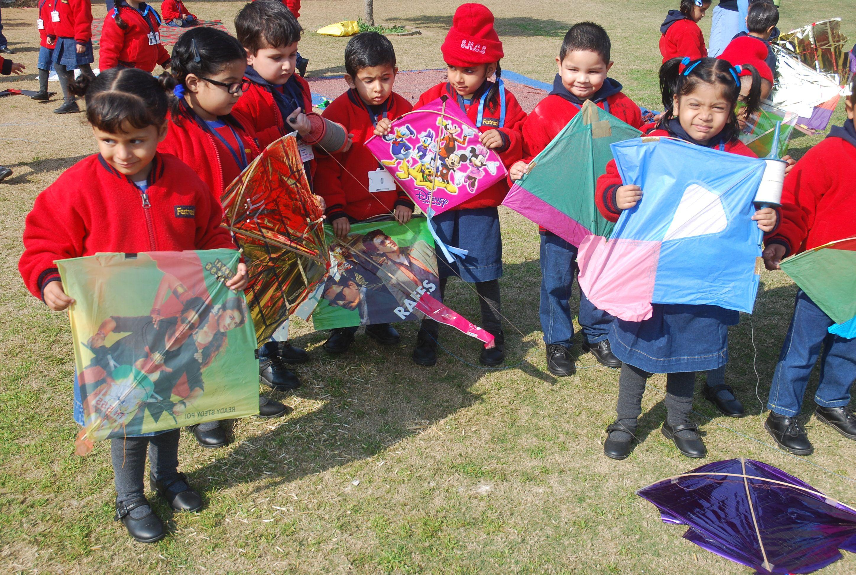 Celebrating Vasant Panchami With Kite Flying