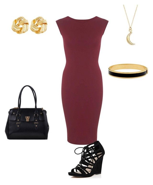 """""""Assembly/Kingdom Hall"""" by jazsmaster ❤ liked on Polyvore featuring Miss Selfridge, River Island, Halcyon Days, Susan Shaw and Monica Rich Kosann"""