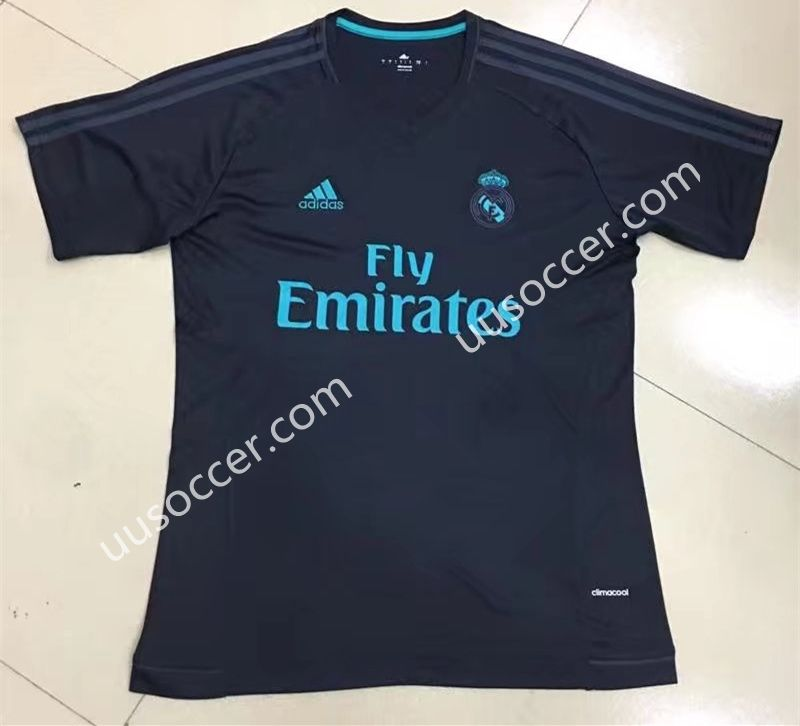 lowest price 839ae 77d0d 2017-18 Real Madrid Dark Blue Thailand Jersey AAA | Cheap ...