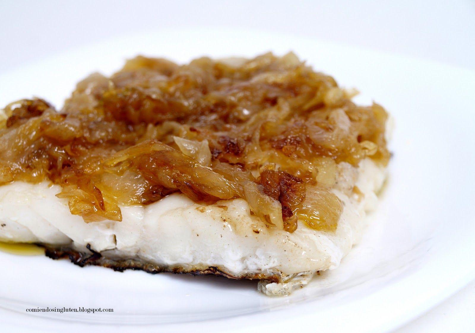 Como Cocinar Cebolla Caramelizada   Bacalao Fresco Con Cebolla Caramelizada Sin Azucar Cocina