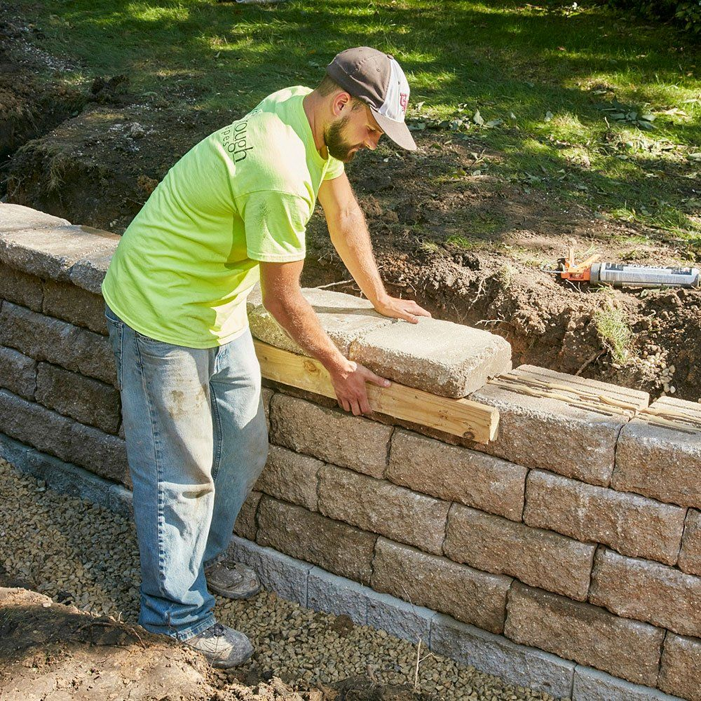 How to build a retaining wall that will last building a