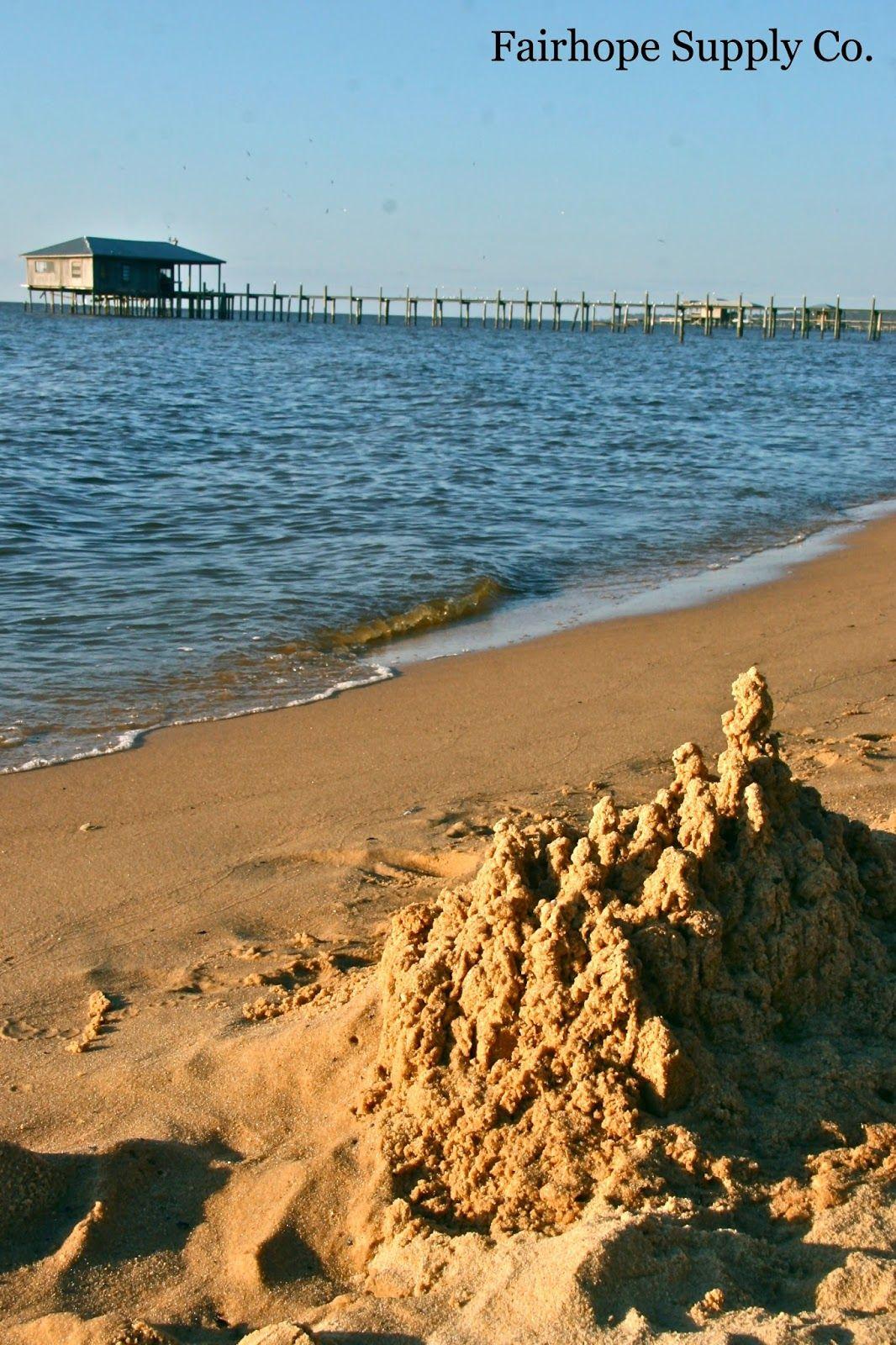 Mobile Bay At The Fairhope Beach Al