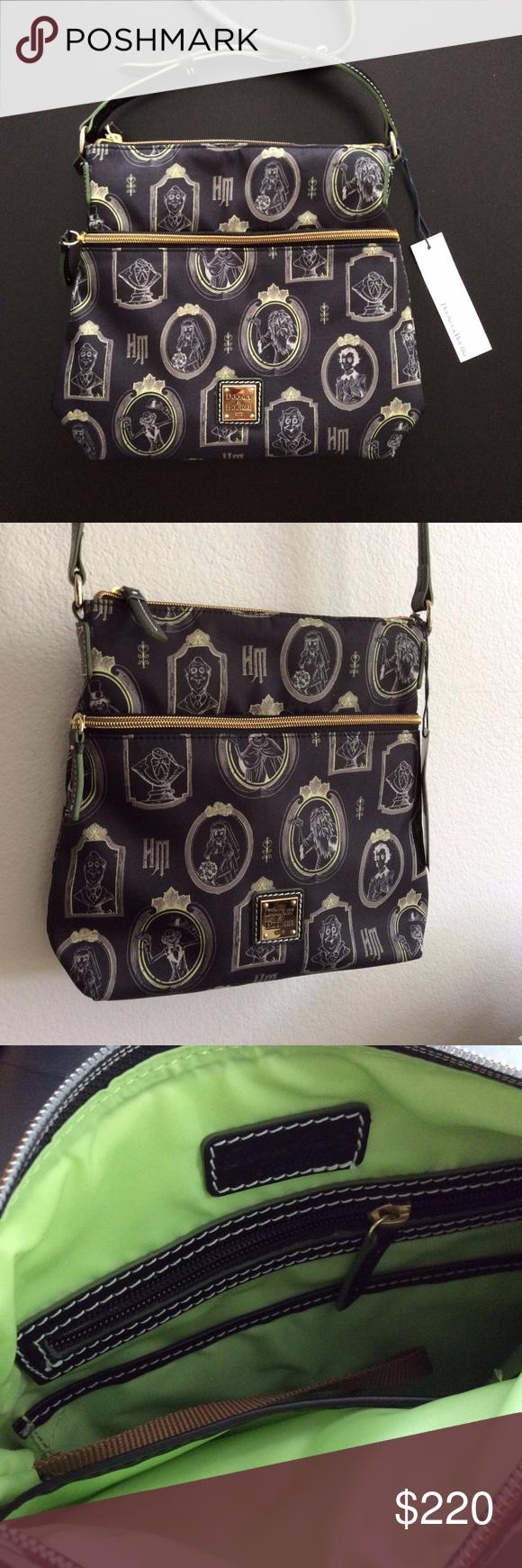 New Dooney Bourke Haunted Mansion Crossbody Bag Bags Dooney Crossbody Bag