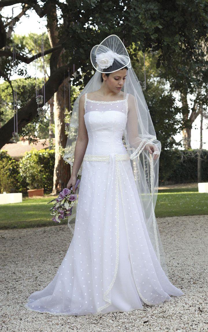Da RicamatoCon Abito Sposa Cappello Grande bfgvI6Y7y