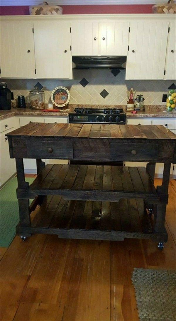 Charmant Diy Tabelle In Kücheninsel Zeitgenössisch - Küchenschrank ...